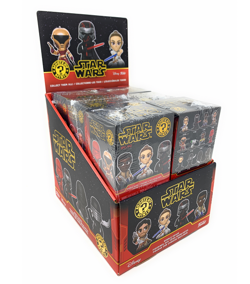 Funko Star Wars Episode IX: The Rise of Skywalker Mystery Mini Blind Box Display (Case of 12)