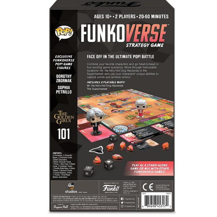 Funkoverse Golden Girls 101 Expandalone Strategy Game