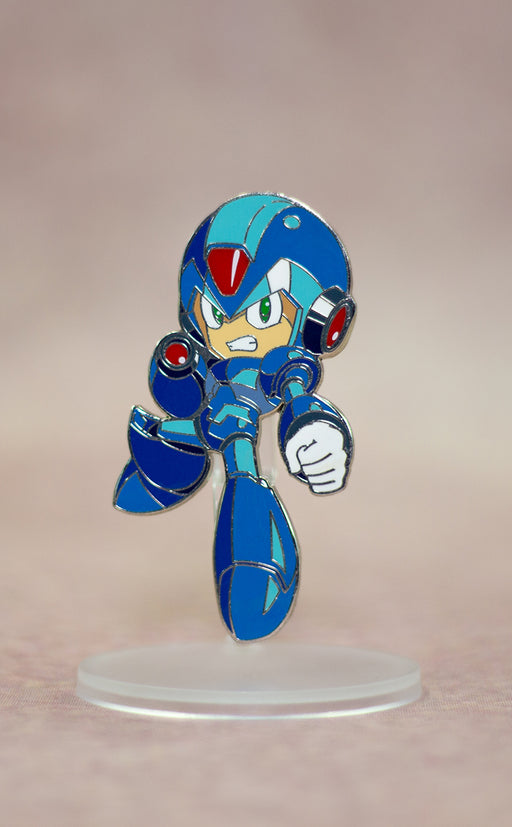 Good Smile Mega Man   - Mega Man  X  Nendoroid Pin