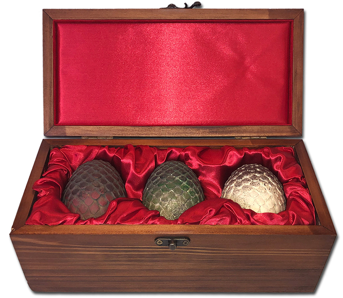 Game of Thrones Dragon Eggs Collectible Set (House Targaryen Limited Edition Ver.)