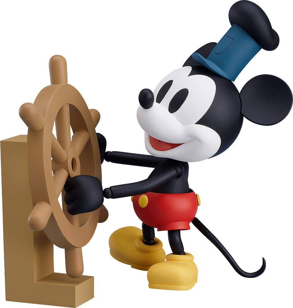 Good Smile Mickey Mouse - 1928 Steamboat Willie (Color Version) Nendoroid