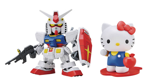 Bandai Spirits Hello Kitty x RX-78-2 Gundam SD-EX Standard Model Kit