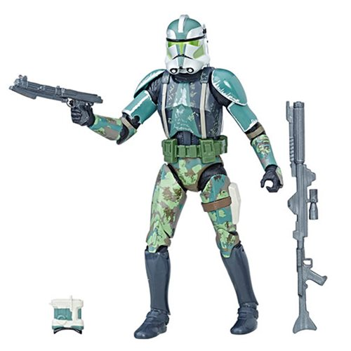 "Star Wars Black Series 6"" Commander Gree Clone Trooper (Clone Wars)"