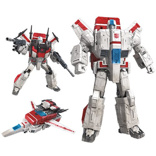 Transformers Generations Seige Voyager Commander Jetfire Action Figure