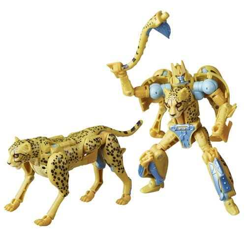 Transformers Generations War for Cybertron: Kingdom Deluxe Cheetor Action Figure
