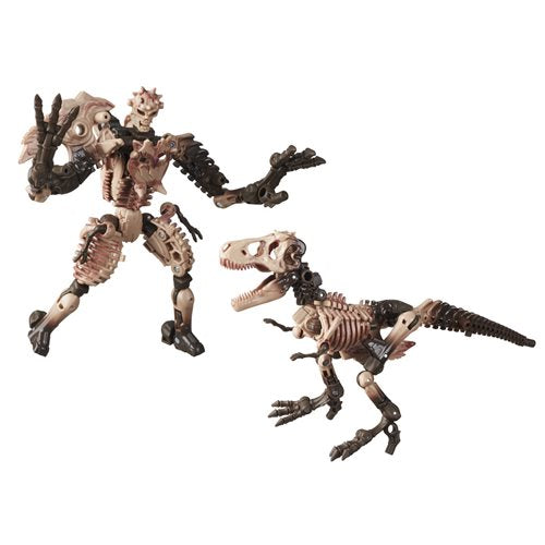 Transformers Generations War for Cybertron: Kingdom Deluxe Paleotrex Action Figure
