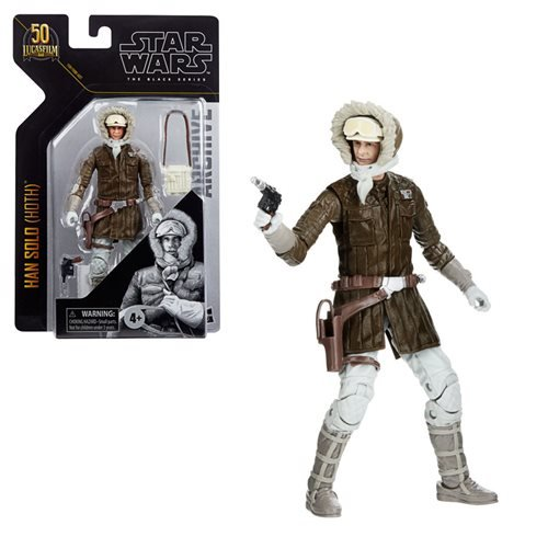 "Star Wars Black Series Archive 6"" Han Solo (Hoth)"