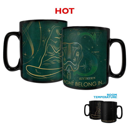 Morphing Mugs Harry Potter Celestial Hogwarts Houses - Slytherin 16-oz Heat-Activated Mug