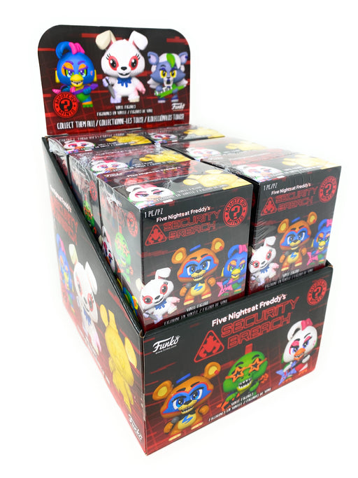 Funko Five Nights at Freddy's Security Breach Mystery Mini Blind Box Display (Case of 12)