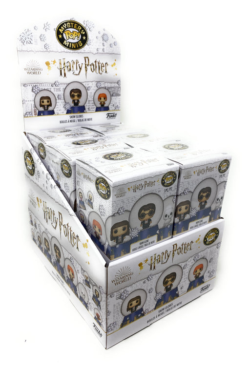 Funko Harry Potter Snow Globe Mystery Mini Blind Box Display (Case of 12)