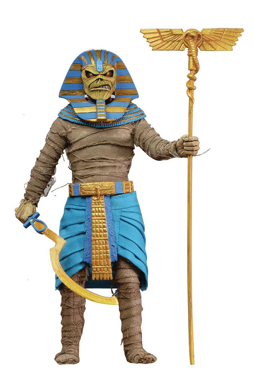 NECA Iron Maiden - Pharaoh Eddie 8-inch Retro Action Figure