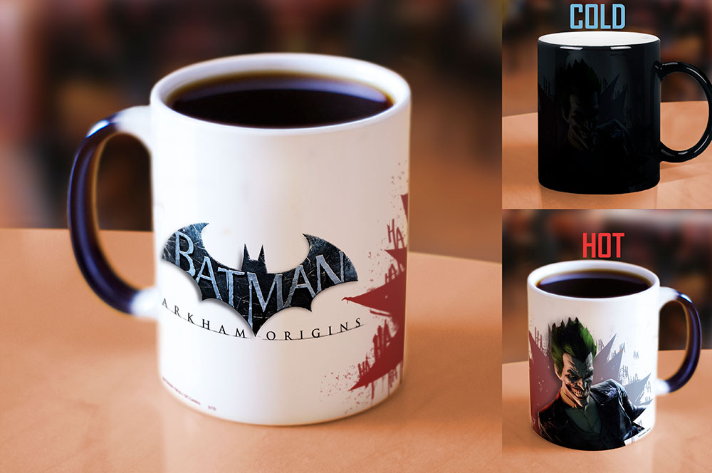 Morphing Mugs Batman Arkham Origins (The Joker) Heat-Sensitive Mug
