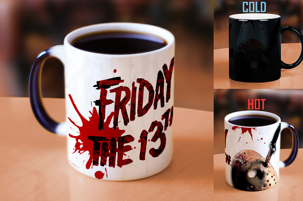 Morphing Mugs Friday the 13th (Blood Splatter) Heat-Sensitive Mug