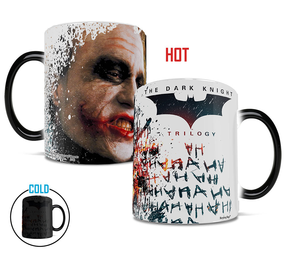 Morphing Mugs Batman The Dark Knight Trilogy (The Joker) Heat-Sensitive Mug