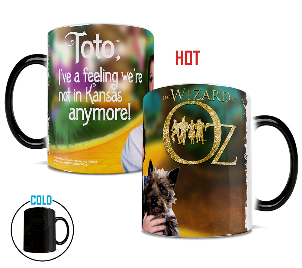 Morphing Mugs The Wizard of Oz (Dorothy and Toto) Heat-Sensitive Mug