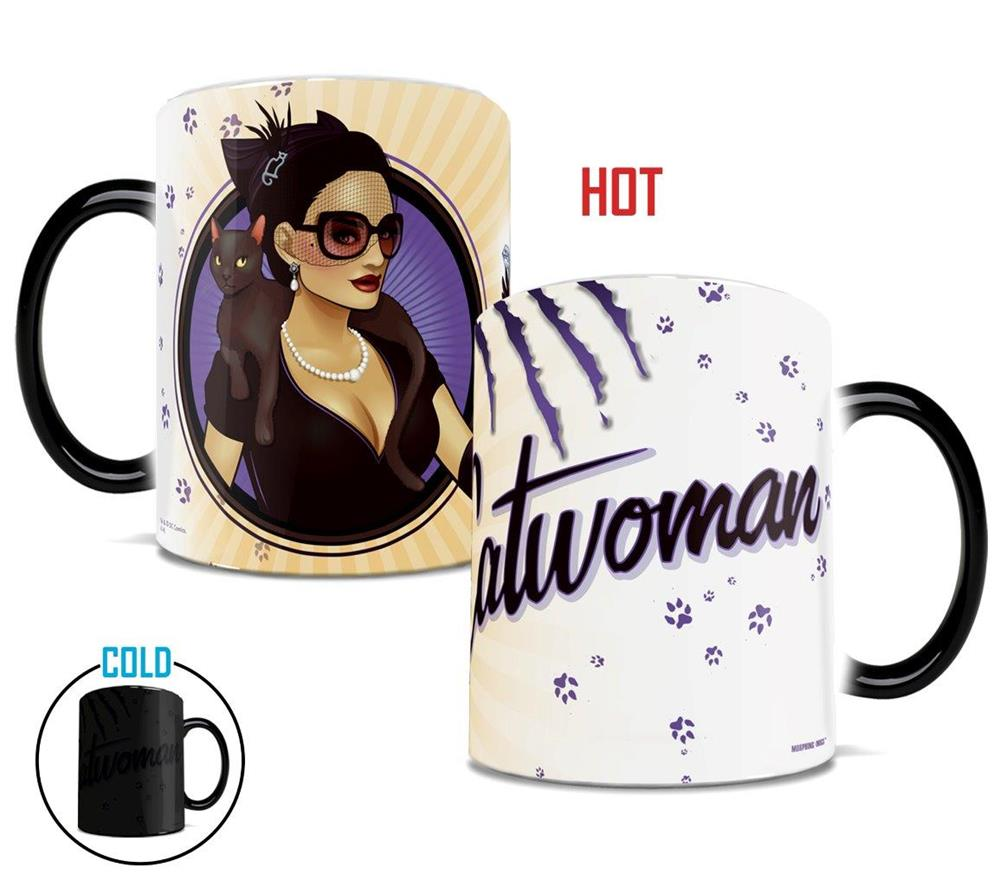 Morphing Mugs DC Comics Justice League (Catwoman Bombshell) Heat-Sensitive Mug