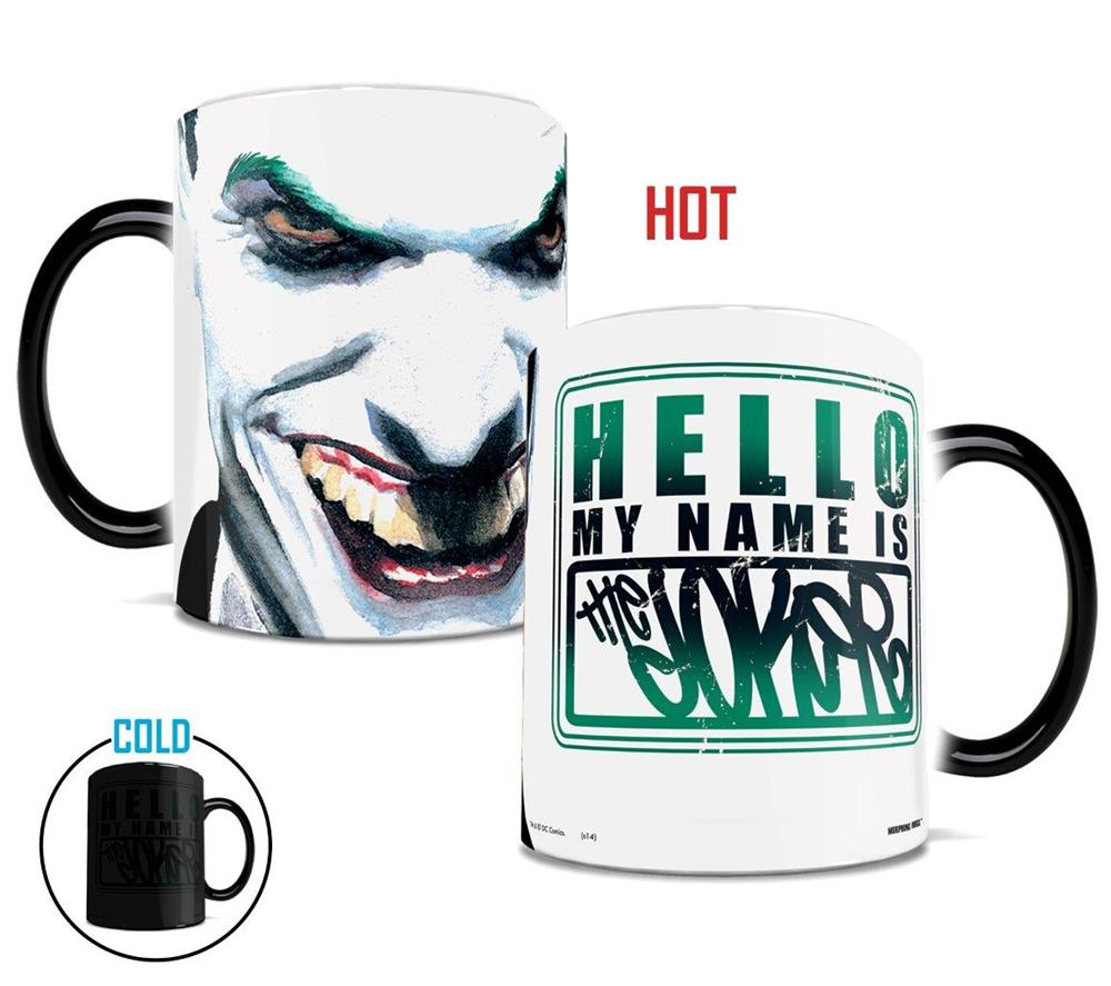 Morphing Mugs DC Comics Justice League (I Am Joker) Heat-Sensitive Mug