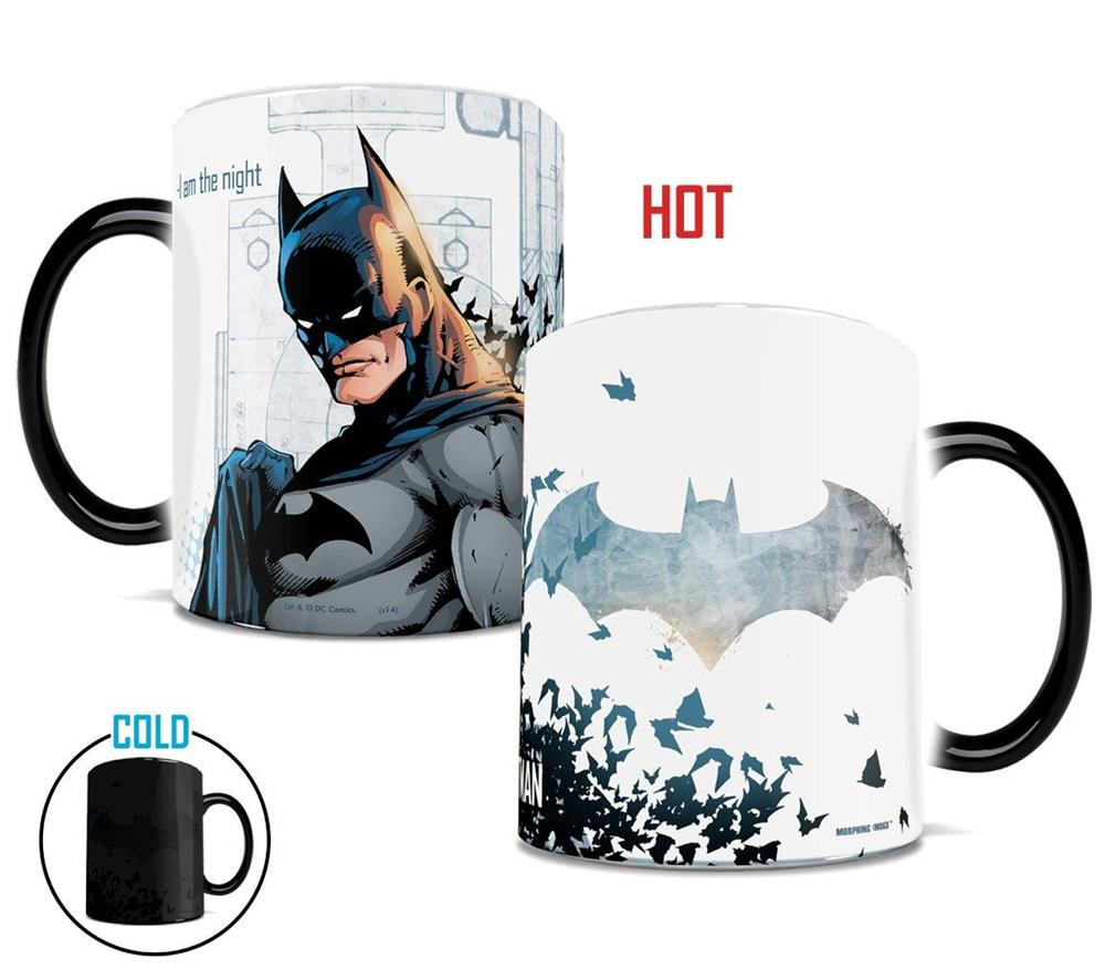 Morphing Mugs DC Comics Justice League (Batman) Heat-Sensitive Mug