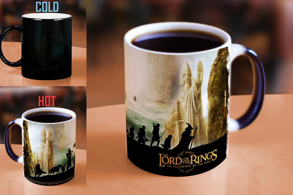 Morphing Mugs The Lord of the Rings (The Fellowship of the Ring) Heat-Sensitive Mug