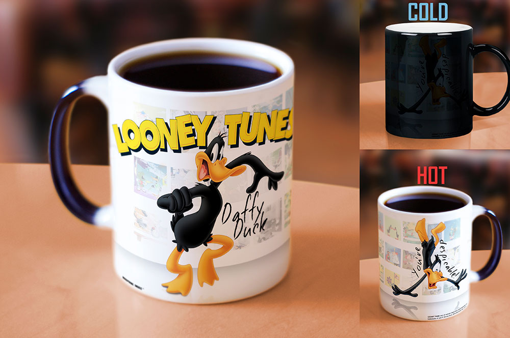 Morphing Mugs Looney Tunes (Daffy) Heat-Sensitive Mug