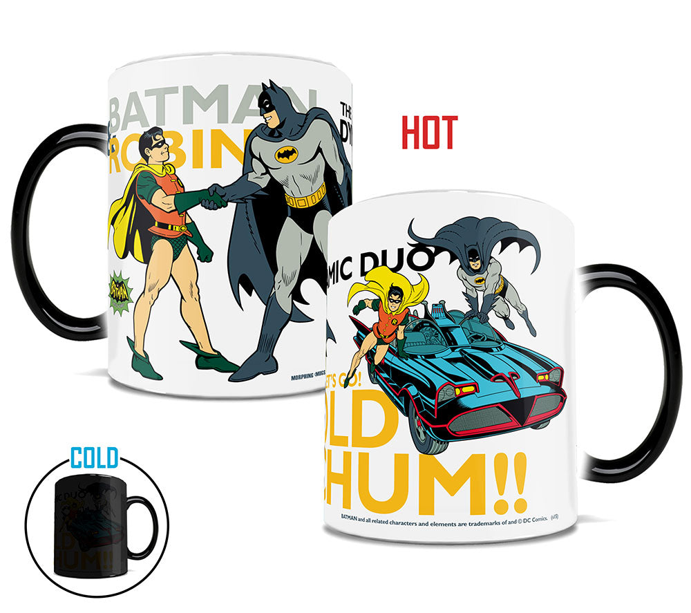 Morphing Mugs Batman Classic TV Series (Dynamic Duo) Heat-Sensitive Mug