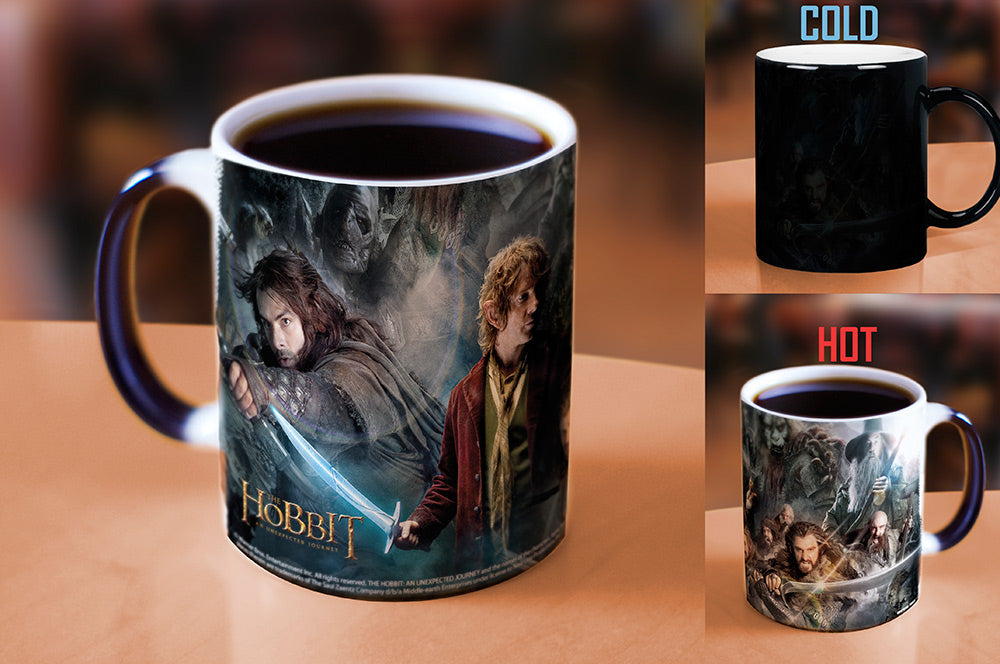 Morphing Mugs Hobbit An Unexpected Journey (Fight) Heat-Sensitive Mug
