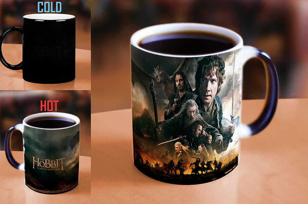 Morphing Mugs The Hobbit: The Battle of the Five Armies (Journey's End) Heat-Sensitive Mug