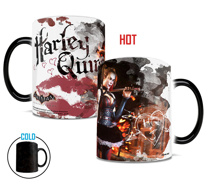Morphing Mugs Batman Arkham Knight (Kisses from Harley) Heat-Sensitive Mug
