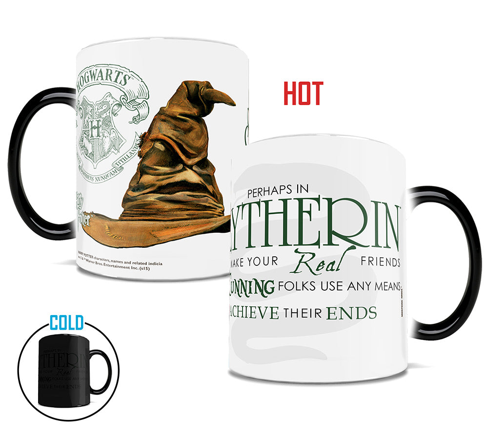 Morphing Mugs Harry Potter (Sorting Hat Slytherin) Heat-Sensitive Mug
