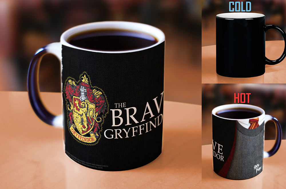 Morphing Mugs Harry Potter (Gryffindor Robe) Heat-Sensitive Mug