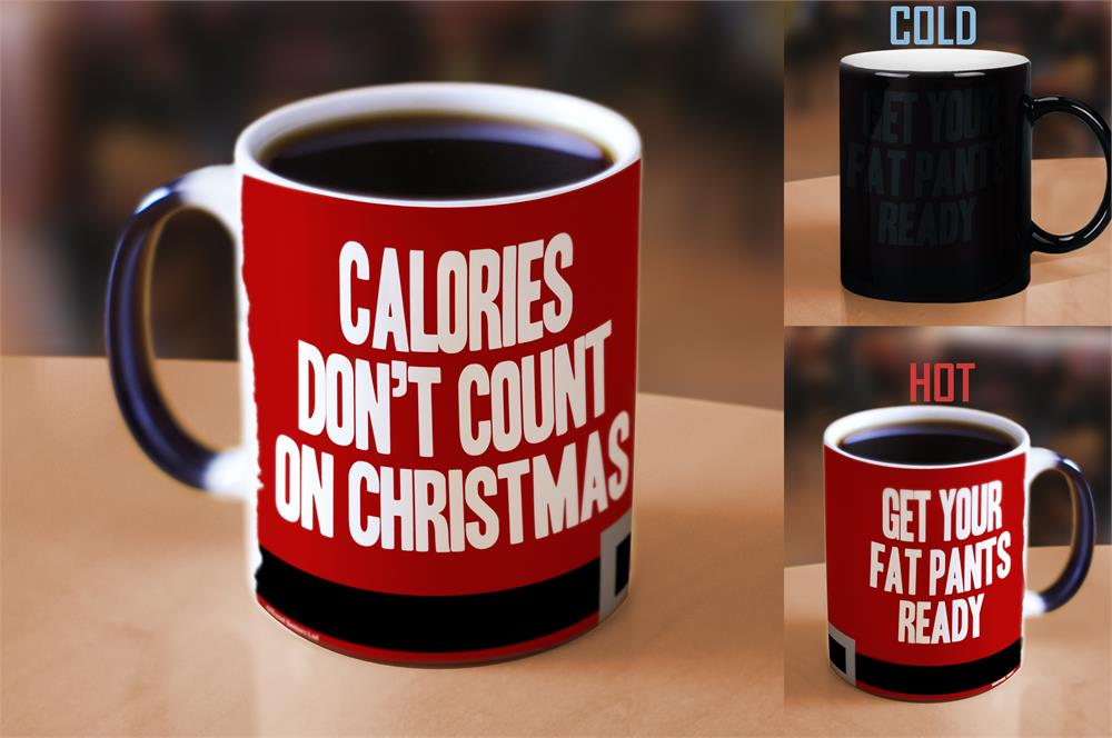 Morphing Mugs Christmas (Fat Pants) Heat-Sensitive Mug