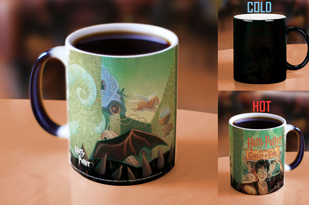 Morphing Mugs Harry Potter (The Goblet of Fire) Heat-Sensitive Mug