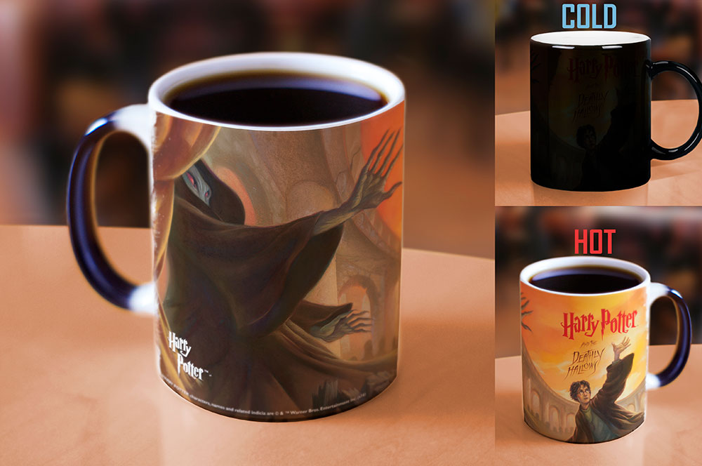 Morphing Mugs Harry Potter (The Deathly Hallows) Heat-Sensitive Mug