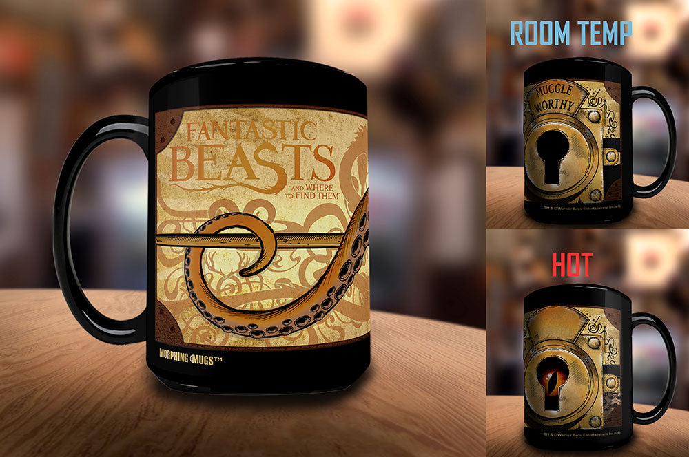 Morphing Mugs Fantastic Beasts and Where to Find Them (Muggle Worthy) Heat-Sensitive Mug