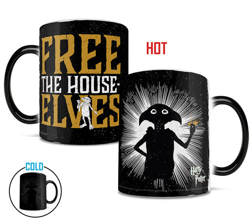 Morphing Mugs Harry Potter (Free The House Elves) Heat-Sensitive Mug