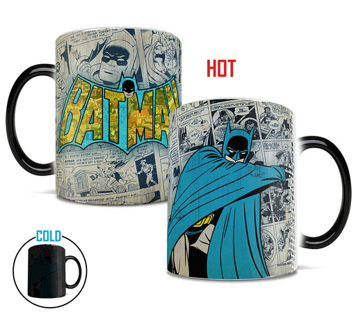 Morphing Mugs DC Comics Originals (Batman Retro Logo) Heat-Sensitive Mug