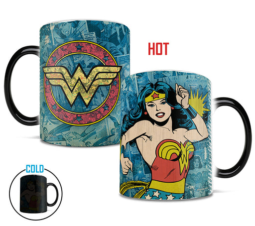 Morphing Mugs DC Comics Originals (Wonder Woman Retro Logo) Heat-Sensitive Mug