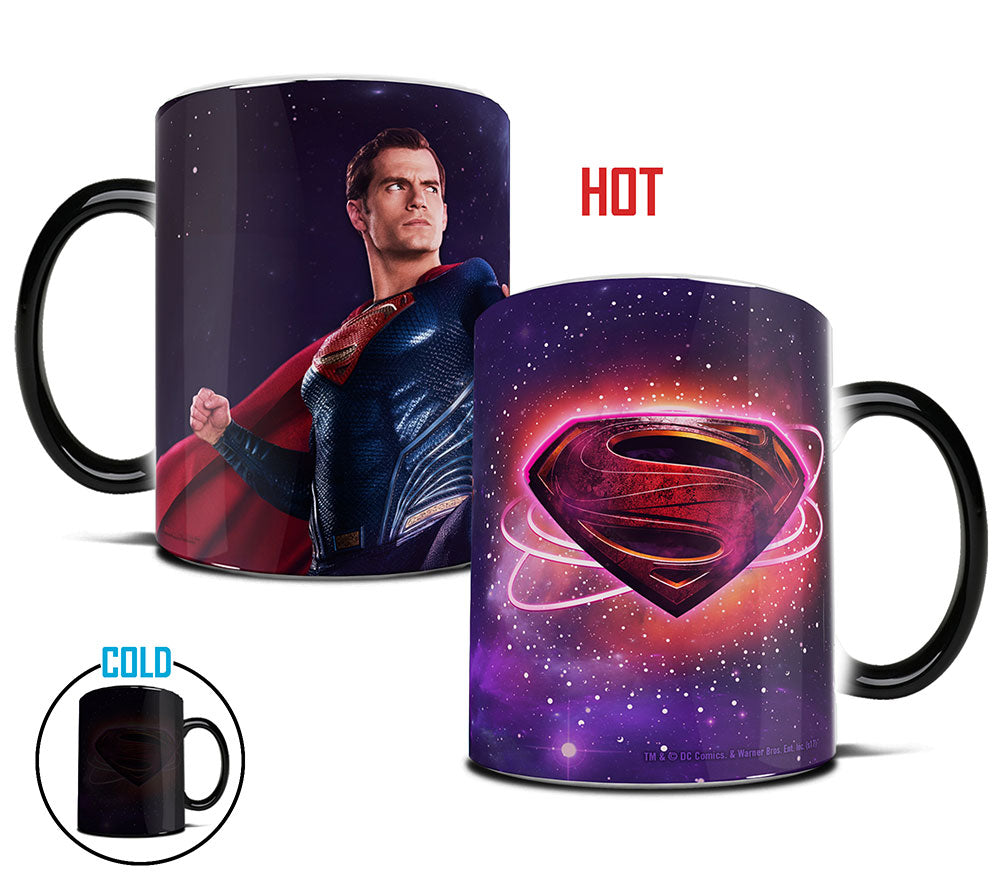 Morphing Mugs Justice League (Superman Logo) Heat-Sensitive Mug