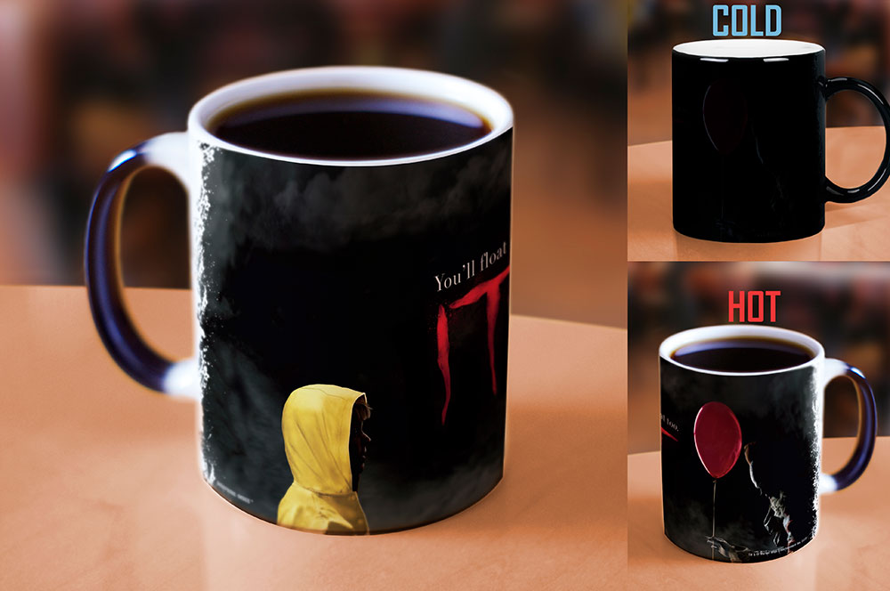 Morphing Mugs IT (Pennywise and Georgie) Heat-Sensitive Mug