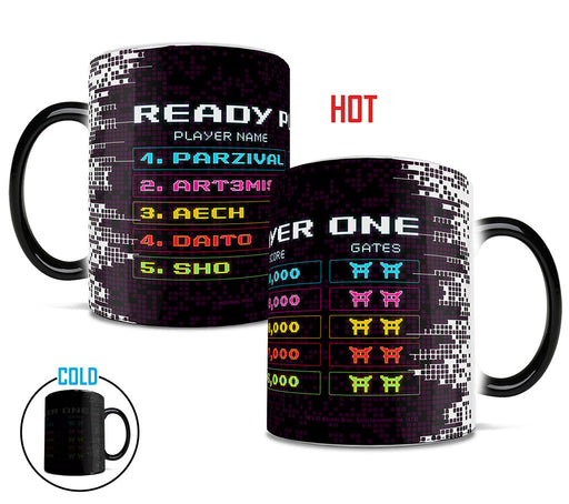 Morphing Mugs Ready Player One (Scoreboard) Heat-Sensitive Mug