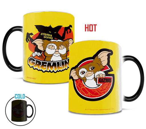 Morphing Mugs Gremlins (Stripe and Gizmo) Heat-Sensitive Mug