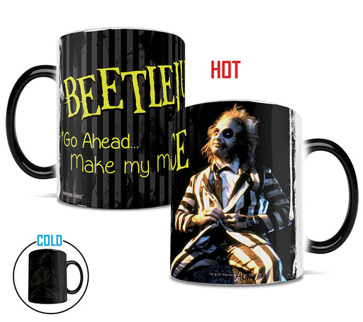 Morphing Mugs Beetlejuice (Make My Millenium) Heat-Sensitive Mug
