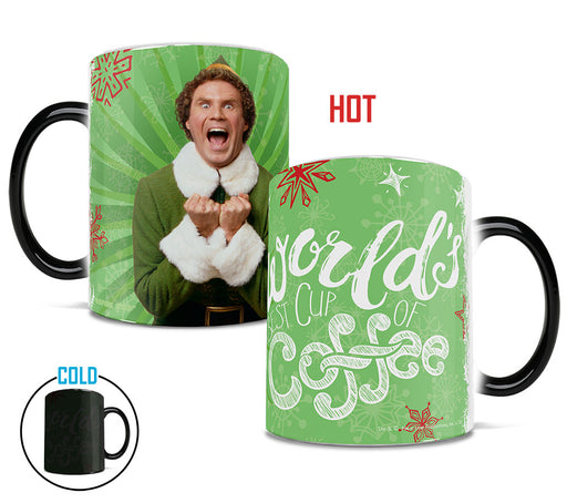 Morphing Mugs Elf (World's Best Cup of Coffee) Heat-Sensitive Mug