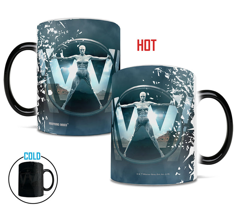 Morphing Mugs Westworld (Creation of a Host) Heat-Sensitive Mug
