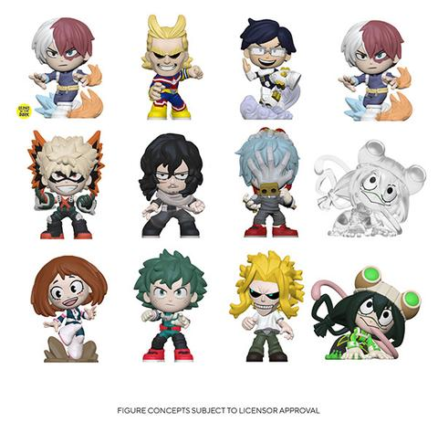 Funko My Hero Academia Mystery Mini Blind Box Display (Case of 12)