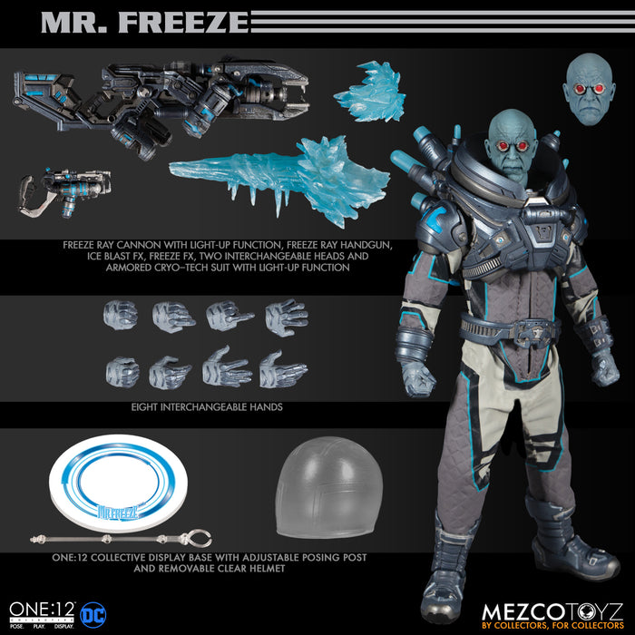 Mezco One:12 Collective - Mr. Freeze (Deluxe Editon) Action Figure