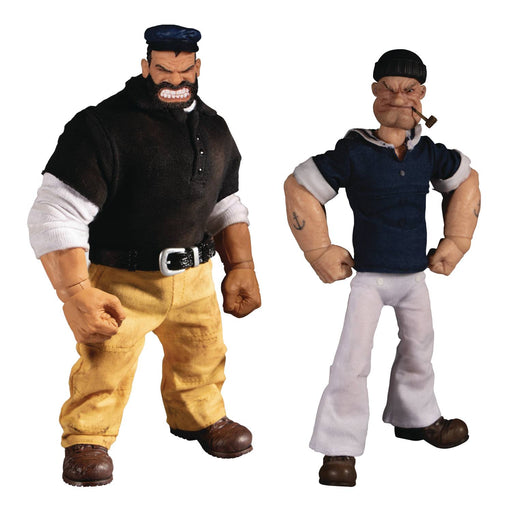 "Mezco One:12 Collective - Popeye & Bluto ""Stormy Seas Ahead"" Deluxe 2-Pack"