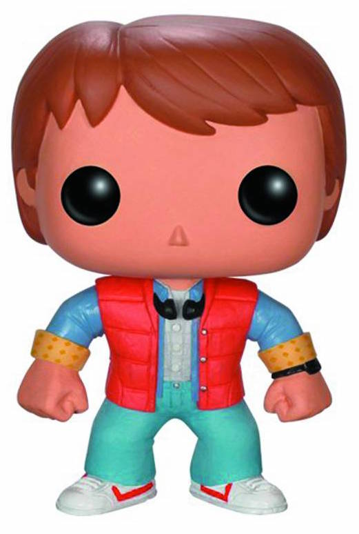 Funko Pop! Movies: Back to the Future Series 1 - Marty McFly