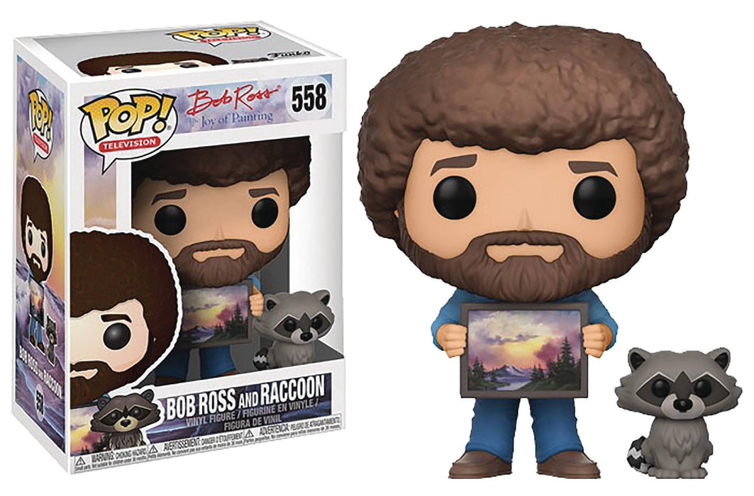 Funko Pop! Television - Bob Ross with Racoon