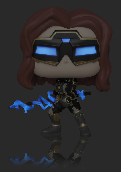 Funko Pop! Marvel: Avengers Endgame - Black Widow (Stark Tech Suit - Chase Variant)